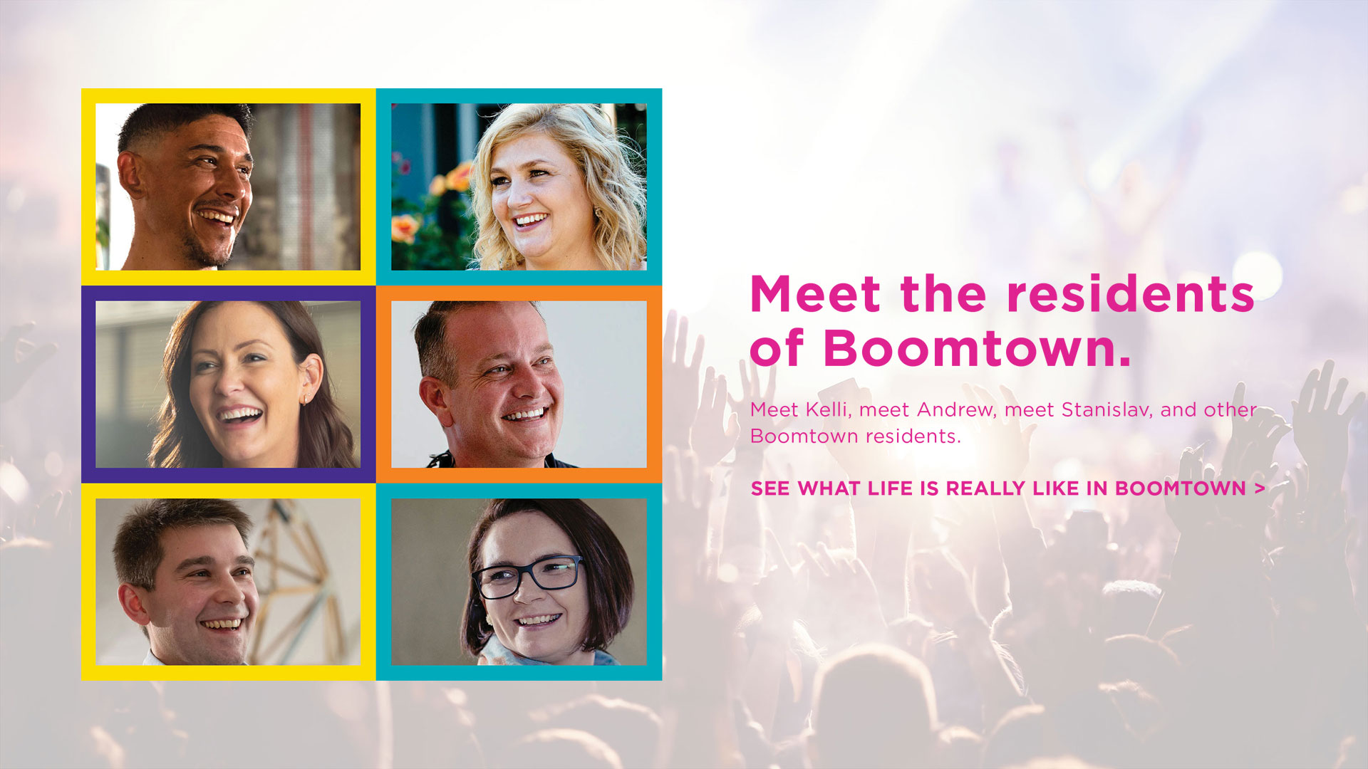 Meet the residents of Boomtown